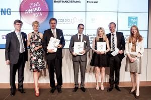 Zins-Award 2014: ACCEDO bester deutscher Anbieter von Forward-Darlehen